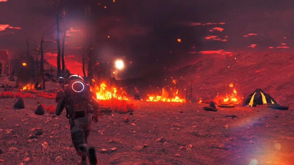 No Man's Sky Origins Volcano
